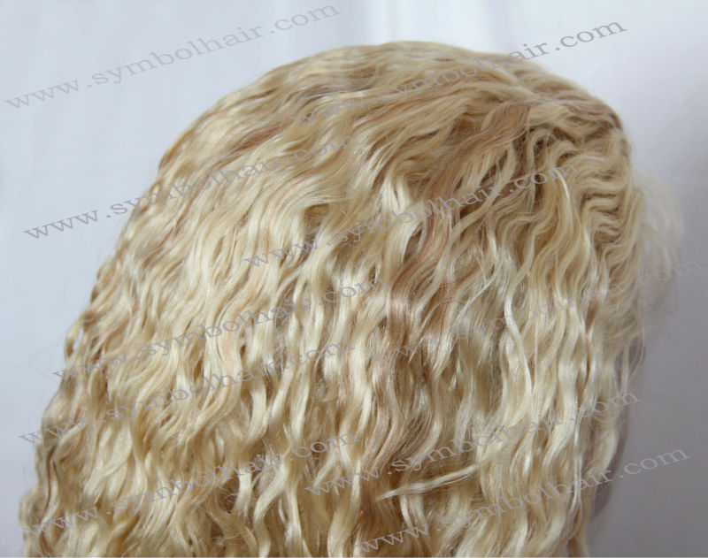 "High <strong>quality</strong> 20"" 613# highlight 27# full lace wig"