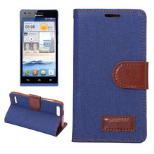 Cowboy Book Leather Case For Huawei Ascend G6 P6 mini