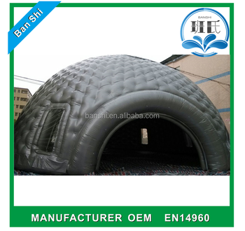 Factory direct sale inflatable lawn tent, inflatable dome tent, inflatable tent