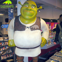 KANOSAUR4785 Funny movie action figure life size cartoon Shrek statue