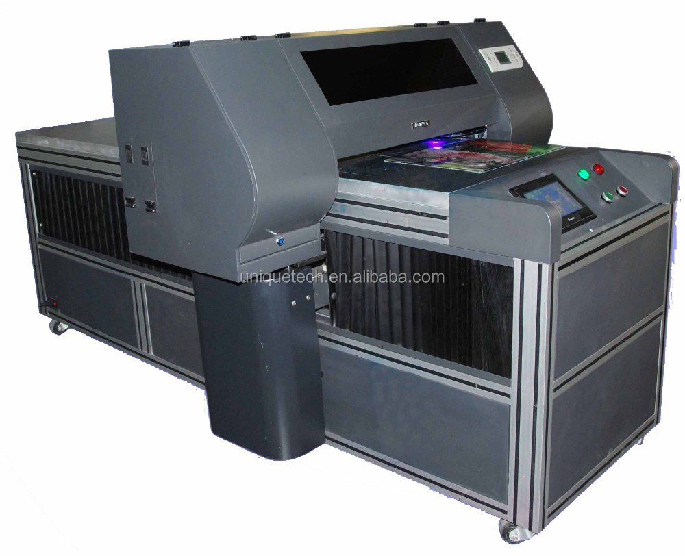 low cost inkjet printer uv printer, glass plastic acrylic marble metal uv printer