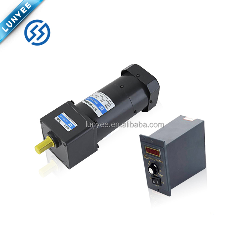 High Torque Low Rpm 6w Speed Control Motor with Controller