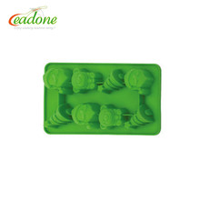 Eco-Friendly cheap chocolate silicone molds with cartoon shape