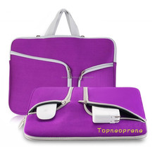 "Neoprene New fashion laptop sleeve fits up to a 15"" laptop"