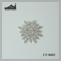 Top Quality Snowflake Shaped Fashion Brooch