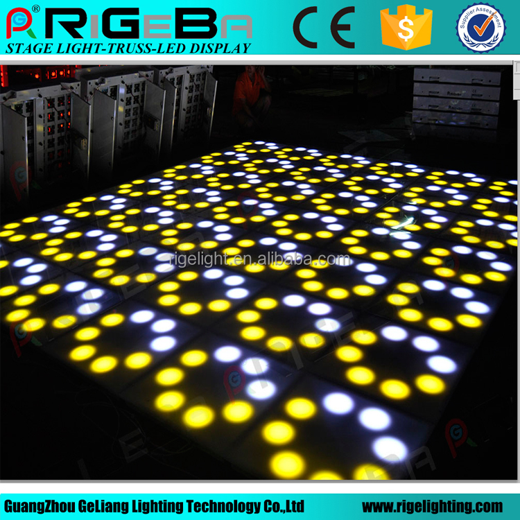 Hot Newest stage lighting Flower LED Dance Floor lights