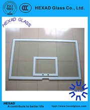 High Quality Clear NBA Basketball backboard with Certificates