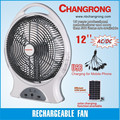 emergence rechargeable portable electric fan