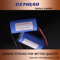 Factory Price 18350 900mah Rechargeable Battery