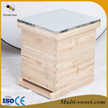 2017 New Design 10 frame langstroth beehive with good price