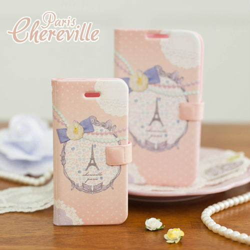 Chereville Paris_Happymori Design Flip Phone Cover Case for Apple iPhone 6 (Made in Korea)