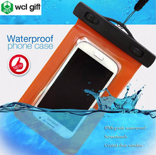 New products waterproof cases mobile phone TPU PVC plastic bags with lanyard