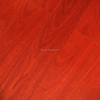 Red Sandalwood Smooth Engineered Wood Flooring