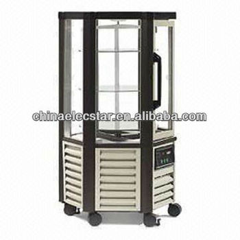 Hexagon Patisseries Chiller glass door Display Cabinet, Also Available in Quadrilateral/Trapezia/Triangle Shape
