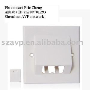 desktop and Network Faceplate