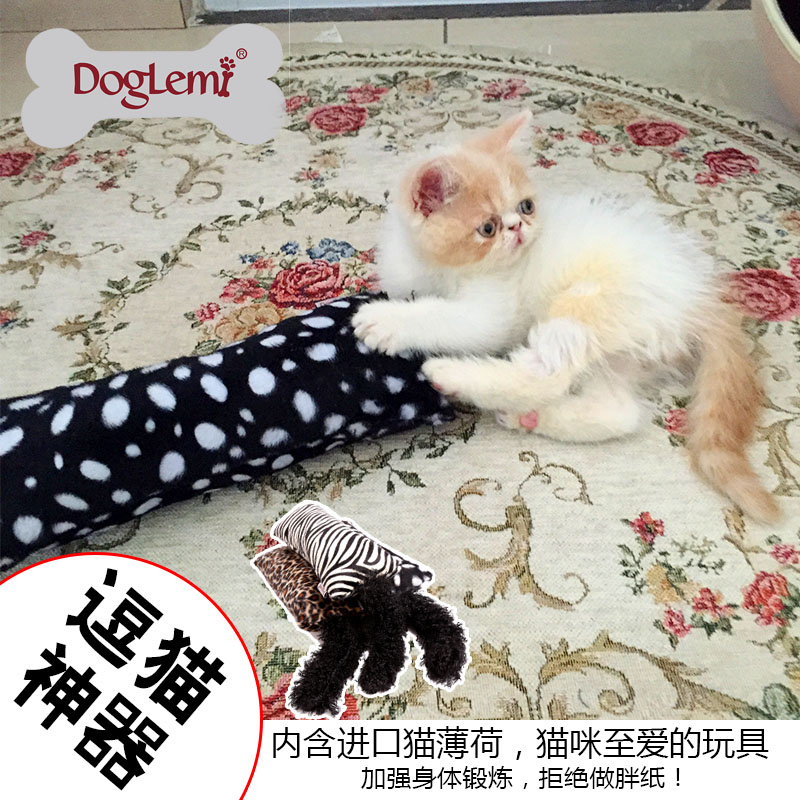 Doglemi Funny Cazy Playing Catnip Pet Cat Toy Kitten Toy Cushion Catnip