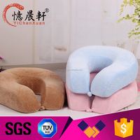 inflatable travel pillow suitable for train bus plane