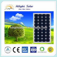 130W photovoltaic solar panel price
