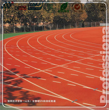 Manufacturer of IAAF Approved 400 Meter Standard Synthetic Rubber Athletic Running track