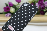 Top Quality Pulitzed deluxe luxury case cover for iphone 4 4s -Flower soft pc case