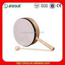 15cm sheepskin hand drum included with wooden beater