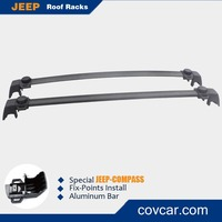 Car Aluminium Wing Bar Rack Rooftop Storage Carrier for Compass