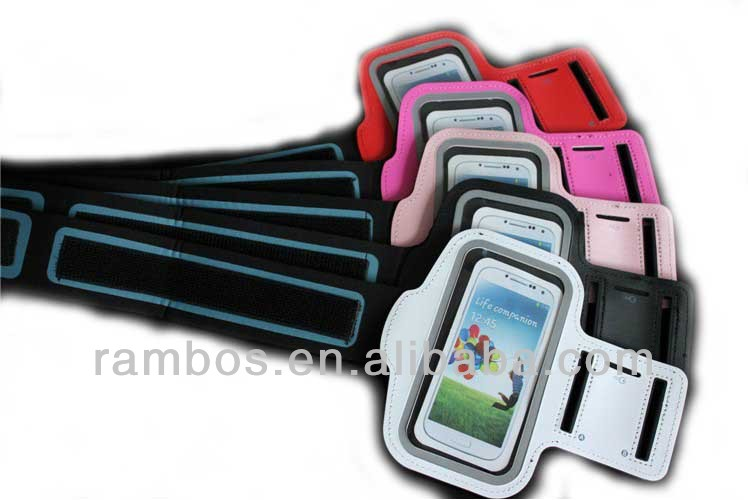 Colorful Ventilated Armband Children Jogging Phone Case for Samsung Galaxy S3 S4