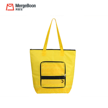 Nylon foldable insulated hand bag cooler bag for shopping