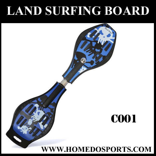 New design land suifing ABS skateboard