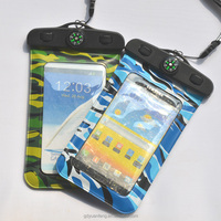 PVC Material Waterproof Smart Phone Bag for iPhone 6 with compass and Apple iPhones Compatible Brand