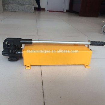 China hydraulic cylinder jack hand pump for sale