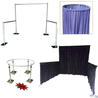 Cheap Aluminum Backdrop Stand Pipe And Drape For Wedding