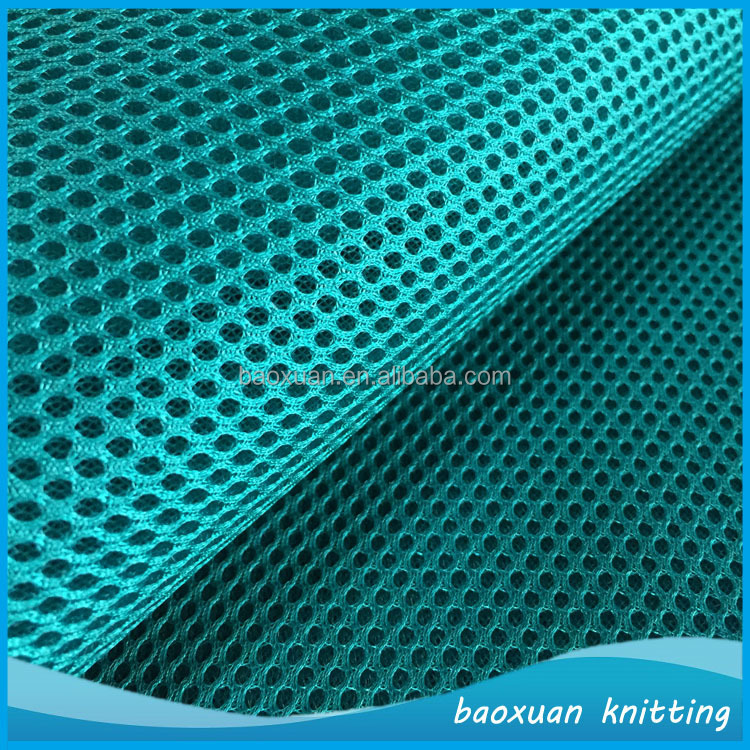 100% polyester regular automotive textiles china 3d air spacer mesh