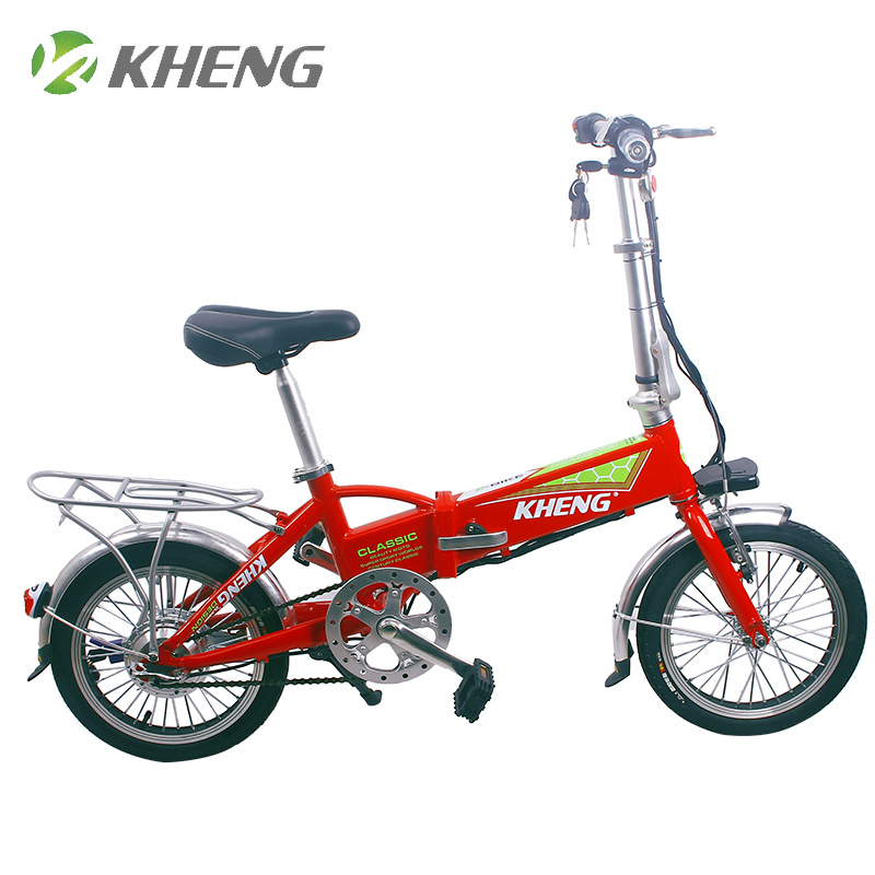 mini folding electric bike 16 inch Lithium battery electric bicycle/ e bike frame