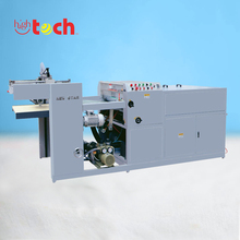 Semi-automatic UV varnish spot coating machine for paper