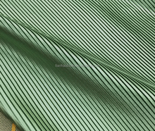 elegant vertical sense polyester pleated chiffon fabric for dress, scarf make in China