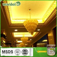 Oil Based Face Paint Wall Coatings Gold/Silver Foil Paint