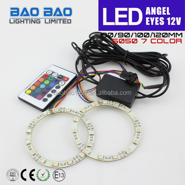 Newest hot sale led angel eyes e90 e92 strip kit