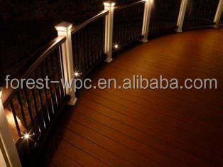 FRSTECH wpc railing and windows plastic deck railings cheap deck railing
