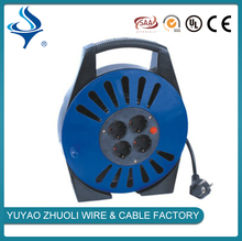 High speed high performance economic retractable mini type cable reel