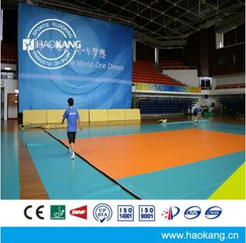 Top Quality 8.0 mm Thick Volleyball Court Sports Vinyl Flooring with CE Certificated