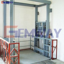 Goods loading and unloading warehouse elevator for pallet lifter
