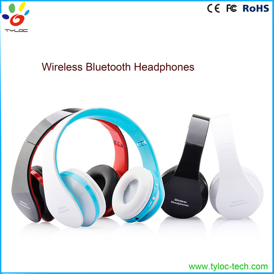 Hot Sale! Rechargeable Sports Stereo Wireless Bluetooth Headset