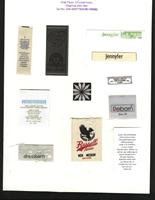 Garment and clothing labels