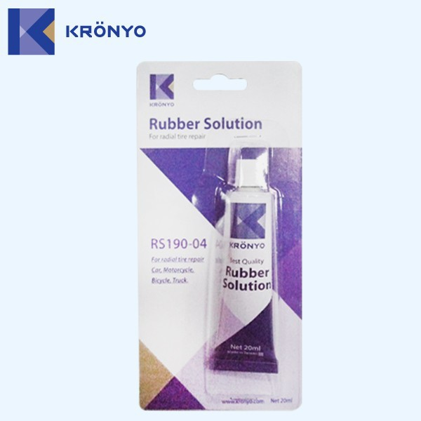 KRONYO adhesive rubber soles for shoes glue soles rubber tire repair
