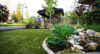 Looks incredibly natural synthetic turf grass artificial landscaping turf