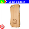 Wood & metal Case for iPhone5 High Quality For Iphone 5 Wood Case