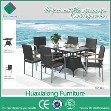 Weather resistant rattan chairs with wood arms outdoor furniture overlock liquidation