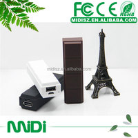 Corporate gifts!! portable mobile phone power bank 2600mah for blackberry