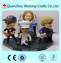 Custom Own Design Resin Active Figures The Band Figurine